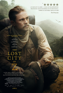 poster The Lost City of Z (2016)