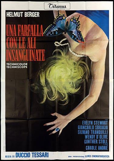poster Una farfalla con le ali insanguinate (1971)