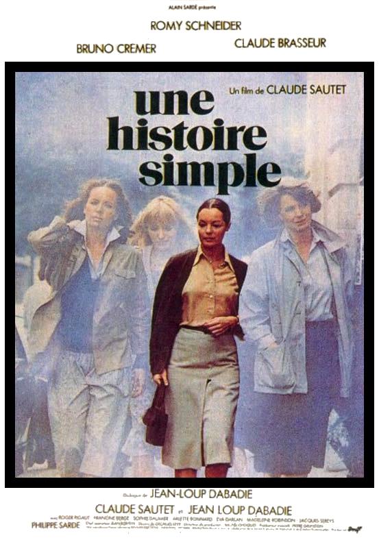 poster Une histoire simple (1978)