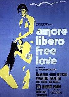 poster Amore libero - Free Love (1974)
