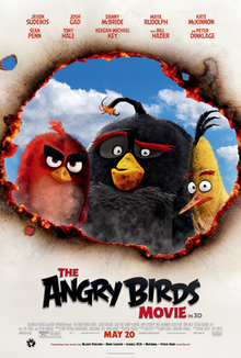 poster Angry Birds (2016)