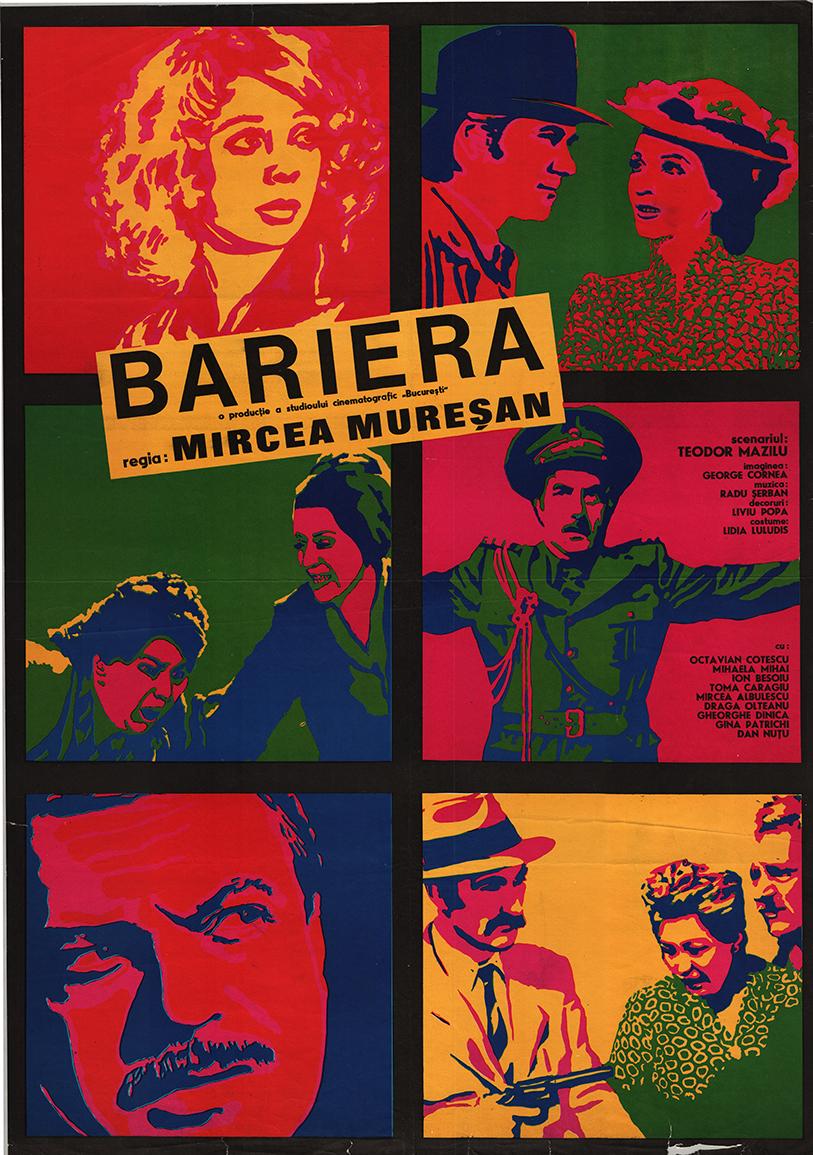 poster Bariera (1972)
