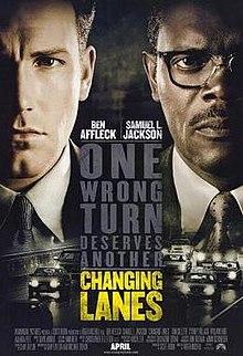 poster Changing Lanes (2002)