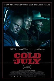 poster Cold in July (2014)