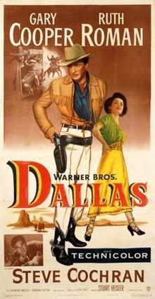poster Dallas (1950)
