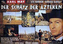 poster Der Schatz der Azteken (1965)