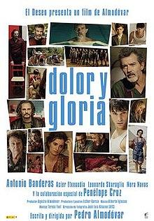 poster Dolor y gloria (2019)