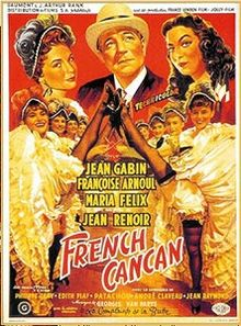 poster French Cancan (1954)