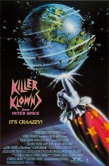 poster Killer Klowns from Outer Space (1988)