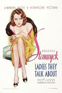 poster Ladies They Talk About (1933)