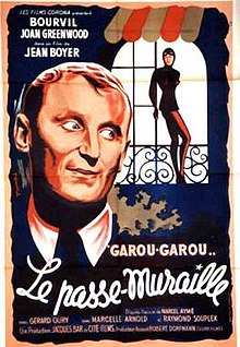 poster Le passe-muraille (1951)