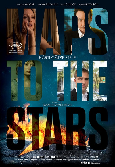 poster Maps to the Stars (2014)