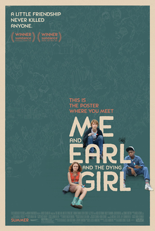 poster Me and Earl and the Dying Girl (2015)