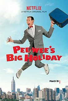 poster Pee-wee's Big Holiday (2016)
