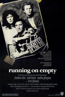 poster Running on Empty (1988)