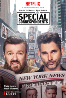 poster Special Correspondents (2016)
