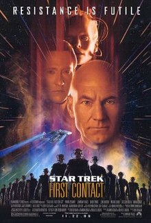 poster Star Trek First Contact (1996)