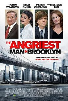 poster The Angriest Man in Brooklyn (2014)