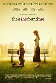 poster Then She Found Me (2007)