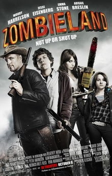 poster Zombieland (2009)