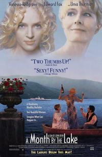 poster A Month by the Lake (1995)