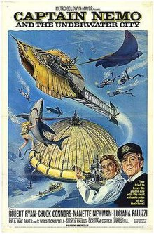 poster Captain Nemo and the Underwater City (1969)