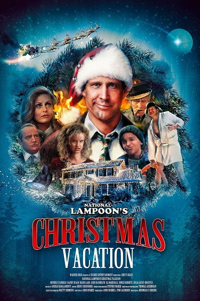 poster Christmas Vacation (1989)