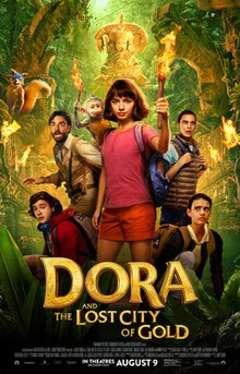 poster Dora and the Lost City of Gold (2019)