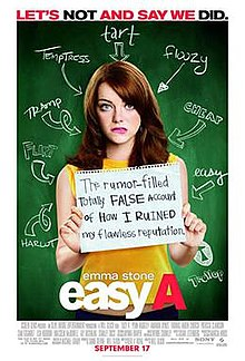 poster Easy A (2010)