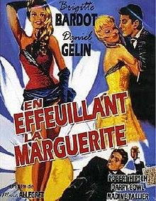 poster En effeuillant la marguerite (1956)