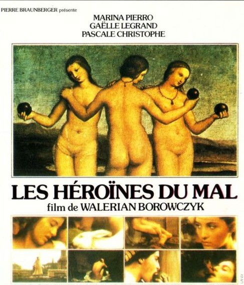 poster Eroinele răului – Les Heroines du mal (1979)