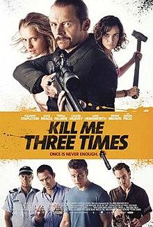 poster Kill Me Three Times (2014)
