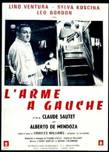 poster L'arme a gauche (The Dictator's Guns) (1965)