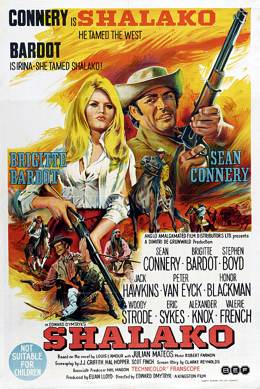 poster Shalako (1968)