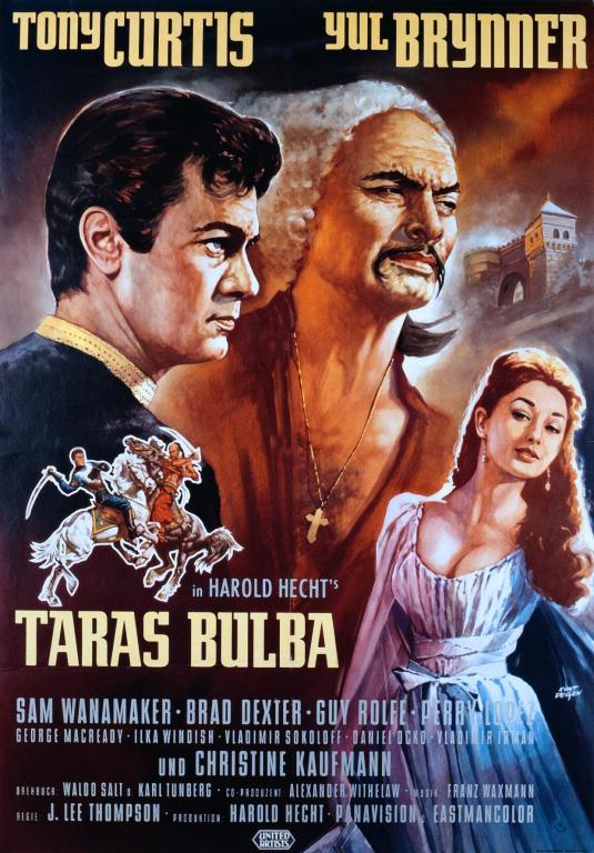 poster Taras Bulba (1962)