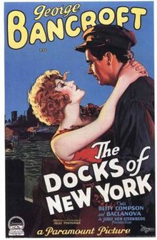 poster The Docks of New York (1928)