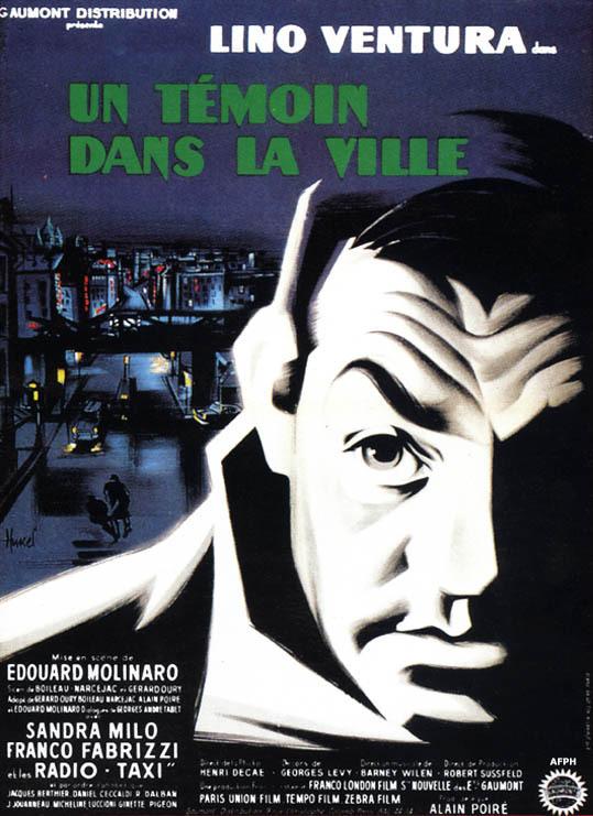 poster Un temoin dans la ville (1959)