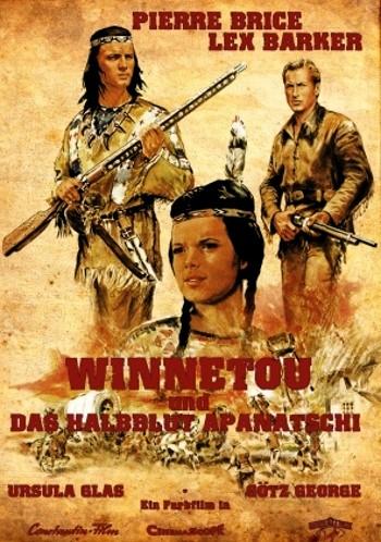 poster Winnetou und das Halbblut Apanatschi (1966)