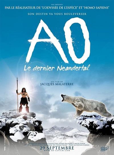 poster Ao, le dernier Neandertal (2010)