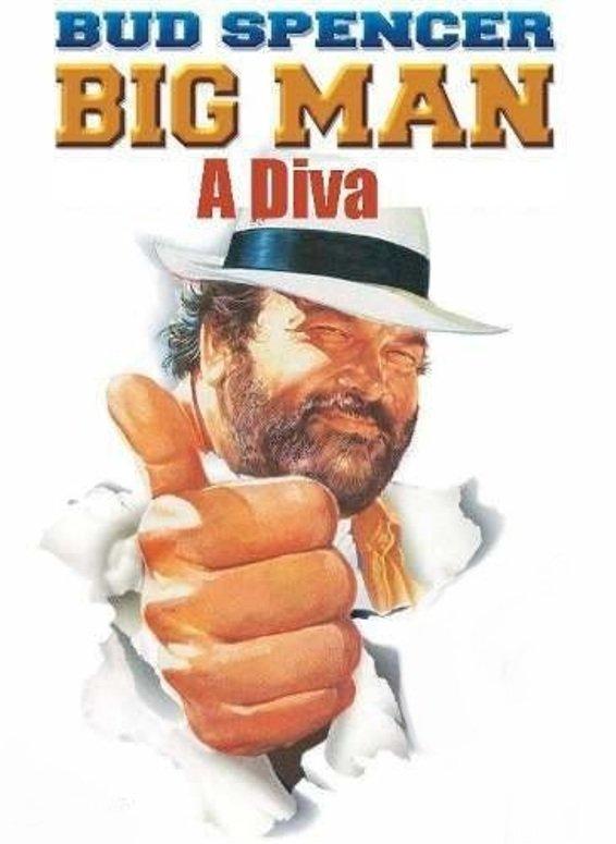 poster Big Man - Diva - Big Man O stea căzătoare (1988)
