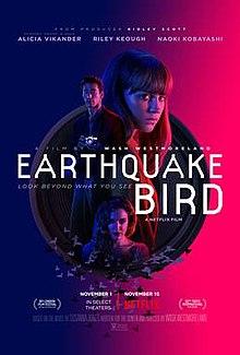 poster Earthquake Bird (2019)