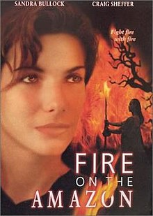 poster Fire on the Amazon (1993)