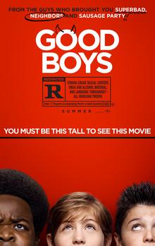 poster Good Boys (2019)