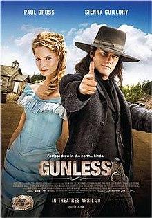 poster Gunless (2010)