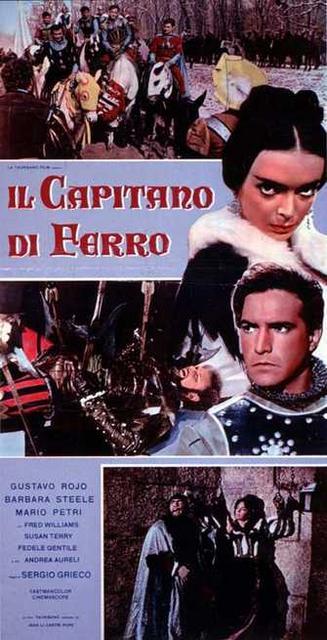 poster Il capitano di ferro (1962)