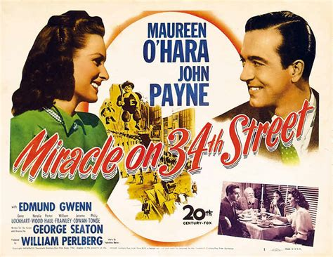 poster Miracle on 34th Street (1947)