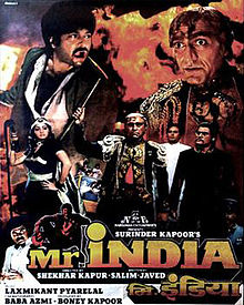 poster Mr India (1987)