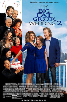 poster My Big Fat Greek Wedding 2 (2016)