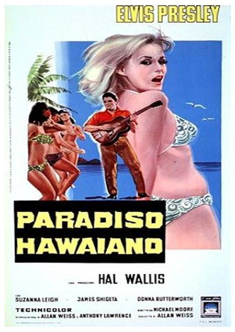 poster Paradise Hawaiian Style (1966)