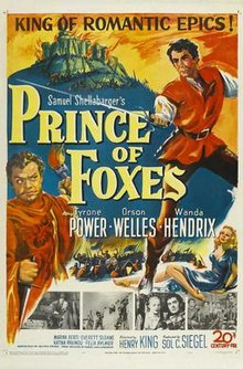 poster Prince of Foxes (1949)